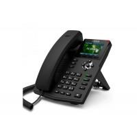 IP телефон Fanvil X3G, 2 SIP-аккаунта, HD-звук, цветной дисплей, поддержка РОЕ, Gbit-Ethernet, с БП