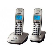 Радиотелефон DECT Panasonic KX-TG2512RU, темно серый металлик