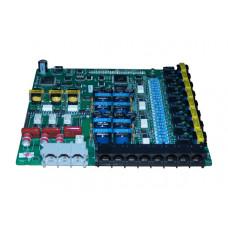 Плата CHB308, 3 внешних линий, 8 гибридных внутренних абонентов для АТС ARIA SOHO