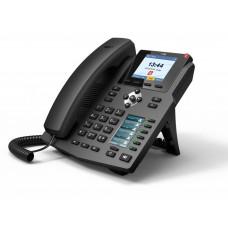 IP телефон Fanvil X3S, 2 SIP-аккаунта, HD-звук, цветной дисплей, с БП
