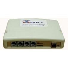 Система записи телефонных разговоров для 4-x аналоговых линий, Telest RL4