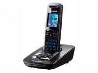 Радиотелефон DECT Panasonic KX-TG8421RU с автоответчиком, титан
