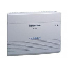 АТС Panasonic KX-TES824: от 3 до 8 внешних (CO) линий, от 8 до 24 внутренних линий
