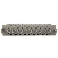 Mагазин защиты от перенапряжения на 10 пар в комплекте с разрядникми 230В