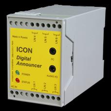 Автоинформатор ICON ANP22, двухканальный (120 минут записи, 2 почтовых ящика)