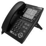 IP телефон NEC ITY-8LDX, черный, ITY-8LDX-1P(BK) TEL