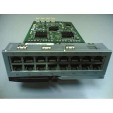 Плата LIP, 16 интерфейсов Ethernet10/100 с PoE для АТС Samsung OfficeServ 7200/7400