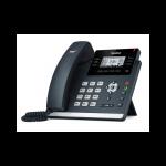 SIP телефон Yealink SIP-T42S, 12 аккаунтов, BLF, PoE, GigE, без БП