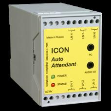 Автосекретарь ICON AA453 (3 линии, 45 мин записи, 5 почтовых ящиков, COM порт)