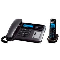 Радиотелефон DECT Panasonic KX-TG6451RU, темно-серый металлик