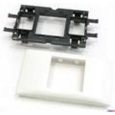 Суппорт-рамка Legrand MOSAIC-new 2 мод. для крышки 65мм