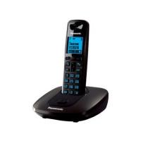 Радиотелефон DECT Panasonic KX-TG6411RU, темно-серый металлик