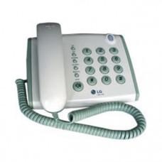 Проводной телефон LG GS-475, белый