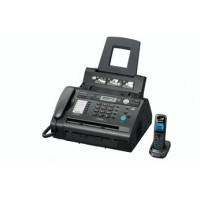Факс лазерный Panasonic KX-FLC418RU, черный