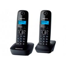 Радиотелефон DECT Panasonic KX-TG1612RU, серый