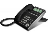 Системный телефон DTL-6DE 6 доп. кнопок, 3-х строчный дисплей 168*58 точек, черный