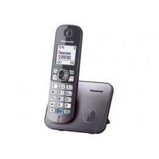 Радиотелефон DECT Panasonic KX-TG6811RU, серый металлик