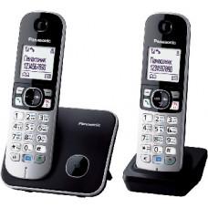 Радиотелефон DECT Panasonic KX-TG6812RU, черный