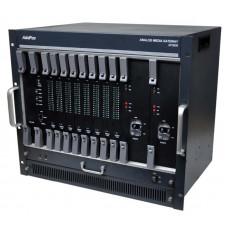 VoIP шлюз VoiceFinder AP5800, шасси для установки 8 модулей MGS