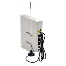 VoIP-GSM шлюз AddPac AP-GS1001C, 1 GSM канал, SIP&H.323, CallBack, SMS, 1FXO порт