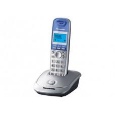 Радиотелефон DECT Panasonic KX-TG2511RU, серебристый
