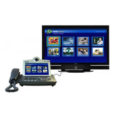 Видео телефон - 7'' Touch screen, 1FXO, 2x10/100 Mbps, Video In/Out (композитный RCA, S-Video), ауди