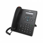 IP телефон СР-6921-С-К9, 2 линии SIP\SCCP, 2 x FE PoE, LCD 396x81 BW, гарнитура RJ-9