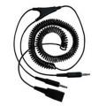 Шнур-переходник Jabra QD-2-3,5мм  (QD на 2x 3,5мм pin plug, витой, 2 м)