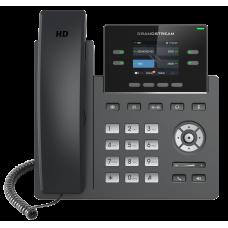 IP телефон GRP2612, 2 SIP аккаунта, 4 линии, цветной LCD, поддержка Wi-Fi, 16 виртуальных BLF, PoE