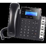IP телефон GXP1628, 2 SIP аккаунта, 2 линии, 1Gb порт, PoE, 8 вирт. BLF
