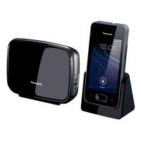Радиотелефон DECT Panasonic KX-PRX150RU, смартфон Android, DECT\Wi-Fi\GSM\3G, белый