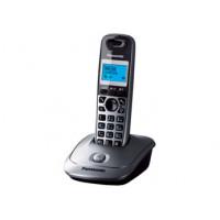 Радиотелефон DECT Panasonic KX-TG2511RU, темно-серый металлик
