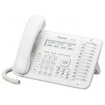 Системный телефон Panasonic KX-DT543, белый