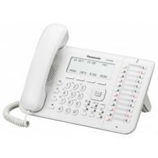 Системный телефон Panasonic KX-DT546, белый