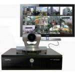 Групповой HD видеотерминал, встроенная MCU на 4 участника