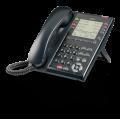 IP телефон IP7WW-8IPLD-C1 TEL(BK) для АТС NEC SL2100, 32 DSS клавиши - 8х4 регистра, черный