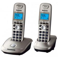 Радиотелефон DECT Panasonic KX-TG2512RU, серый металлик