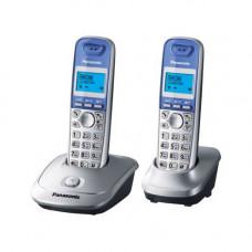 Радиотелефон DECT Panasonic KX-TG2512RU, серебристый