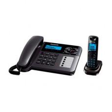 Радиотелефон DECT Panasonic KX-TG6461RU, темно-серый металлик