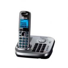 Радиотелефон DECT Panasonic KX-TG6551RU, серый металлик