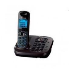 Радиотелефон DECT Panasonic KX-TG6561RU, темно-серый металлик