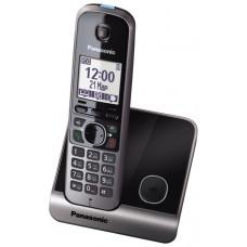 Радиотелефон DECT Panasonic KX-TG6711RU, черный