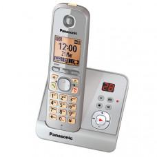 Радиотелефон DECT Panasonic KX-TG6721RU, серебристый
