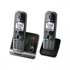 Радиотелефон DECT Panasonic KX-TG6722RU, черный
