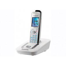 Радиотелефон DECT Panasonic KX-TG8411RU с автоответчиком, белый