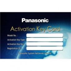 Карта активации 10 SIP-телефонов для АТС Panasonic KX-NSX