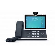 SIP видеотелефон Yealink SIP-T58A, Android, Wi-Fi, Bluetooth, GigE, CAM50 в комплекте, без БП
