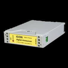 Автоинформатор ICON AN301, одноканальный с питанием от телефонной линии