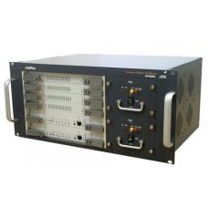 VoIP шлюз VoiceFinder AP6500, 128 FXS, 2x10/100/1000 Mbps Gigabit Ethernet, Dual CPU &PSU