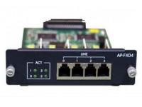 Модуль AP-FX04, 4 порта FXO для VoIP шлюзов Addpac VoiceFinder AP2520G/AP2620